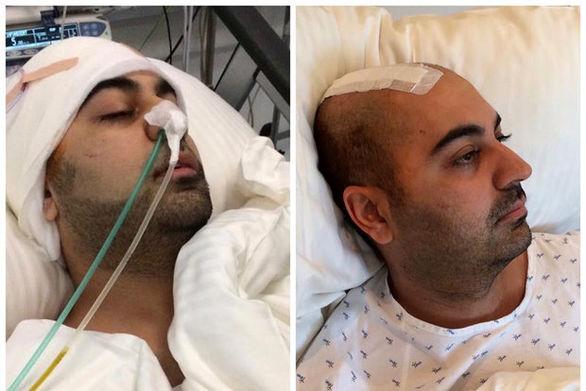 وضعیت بهنام صفوی در بیمارستان + عکس