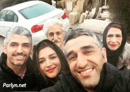 عکس های جذاب ایستاگرام پژمان جمشیدی و خانواده اش + بیوگرافی