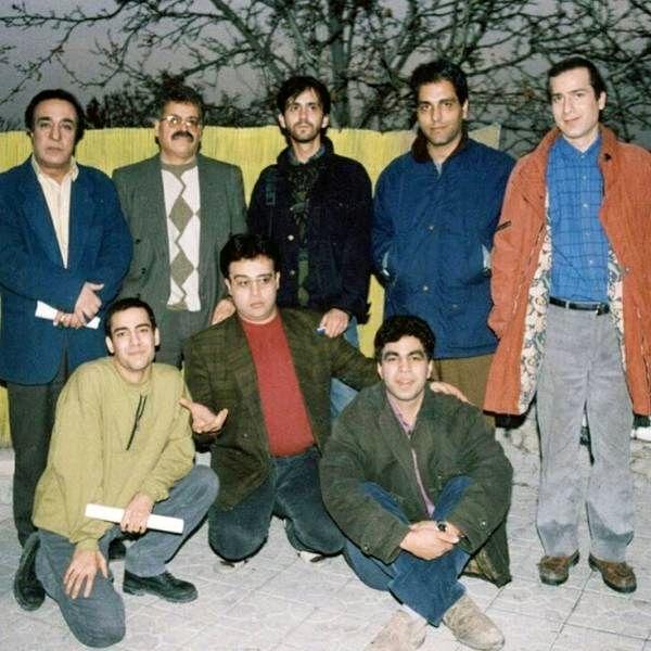 عکسی قدیمی از مهران مدیری