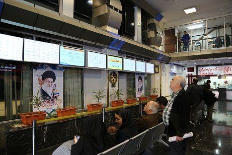 معامله بیش از ۴۱۰۰ میلیارد ریال اوراق بهادار در بورس تهران