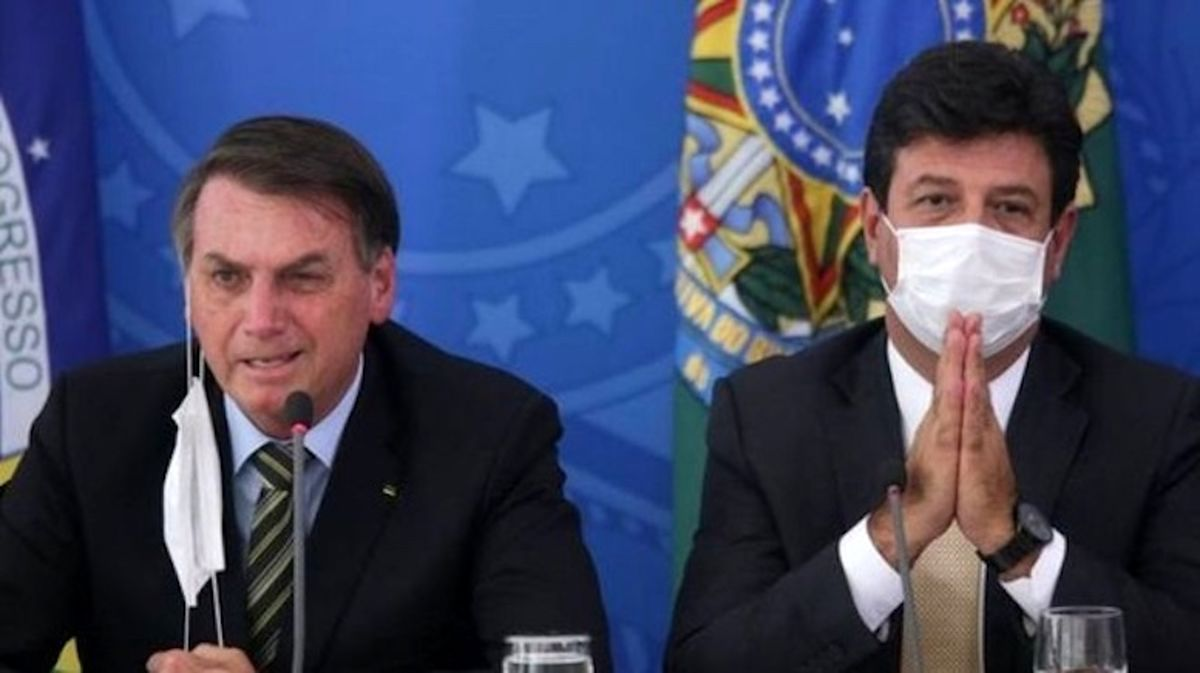 وزیر بهداشت برزیل اخراج شد
