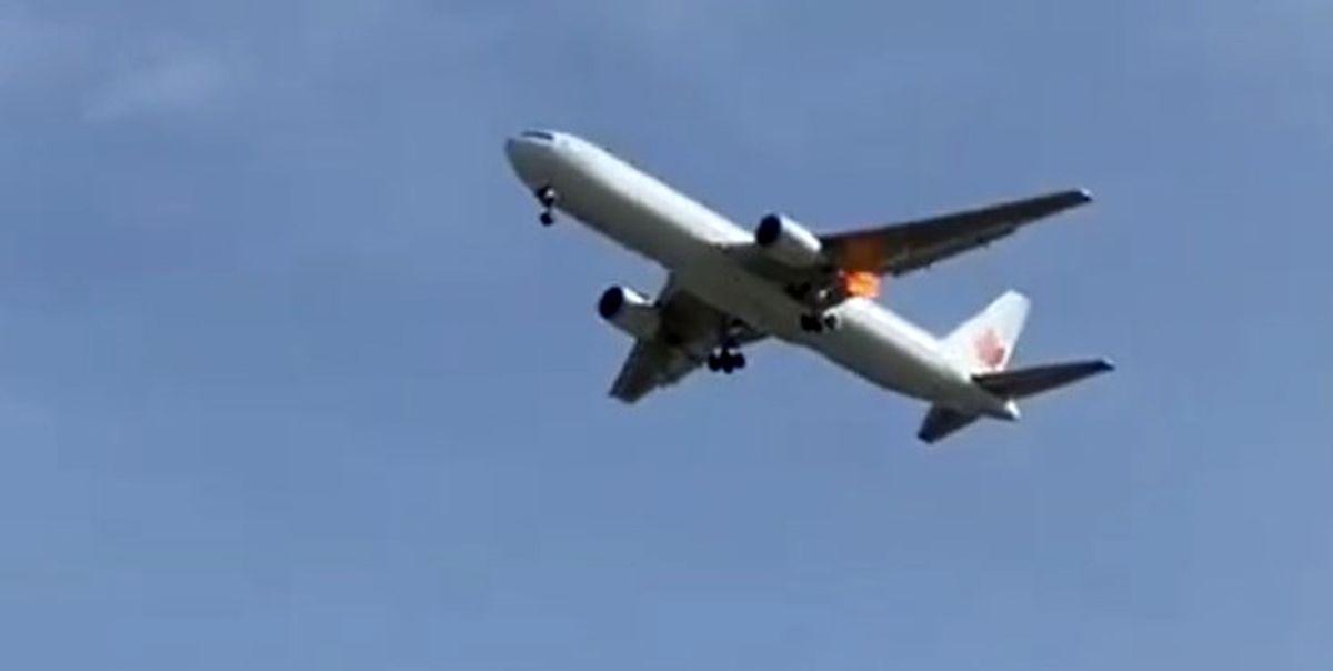بروز نقص فنی برای هواپیمای کانادایی در مادرید