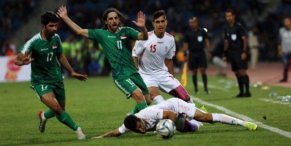 نتیجه بازی ایران و عراق پنجشنبه ۲۳ آبان