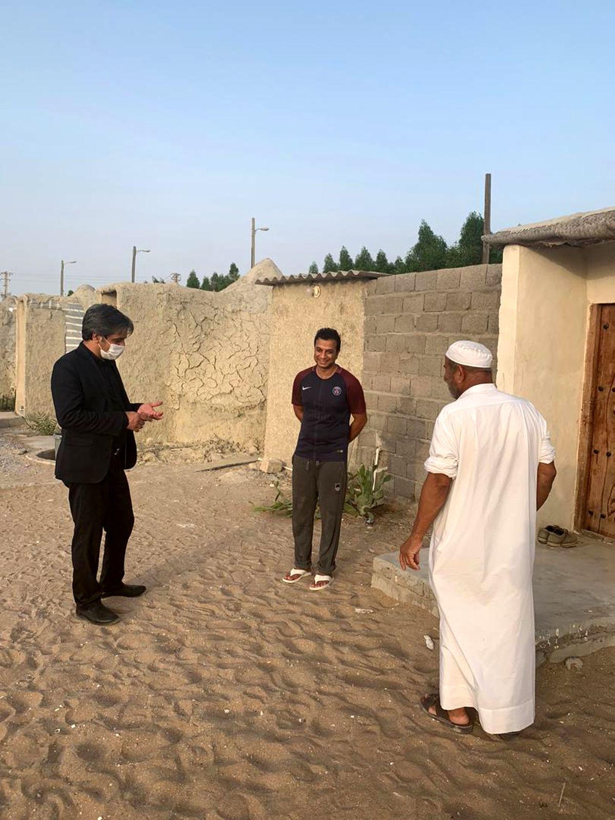 بازدید معاون فرهنگی سازمان منطقه آزاد قشم از چند خانه بوم گردی جزیره