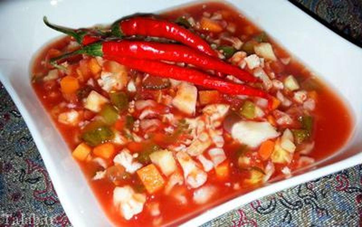 طرز تهیه 2 ترشی گوجه فرنگی برای فصل زمستان