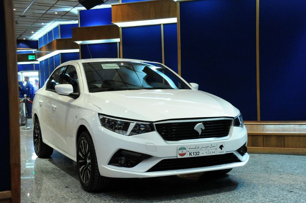 برنامه پیش فروش محصول پروژه K132 و هشت محصول دیگر ایران خودرو اعلام شد