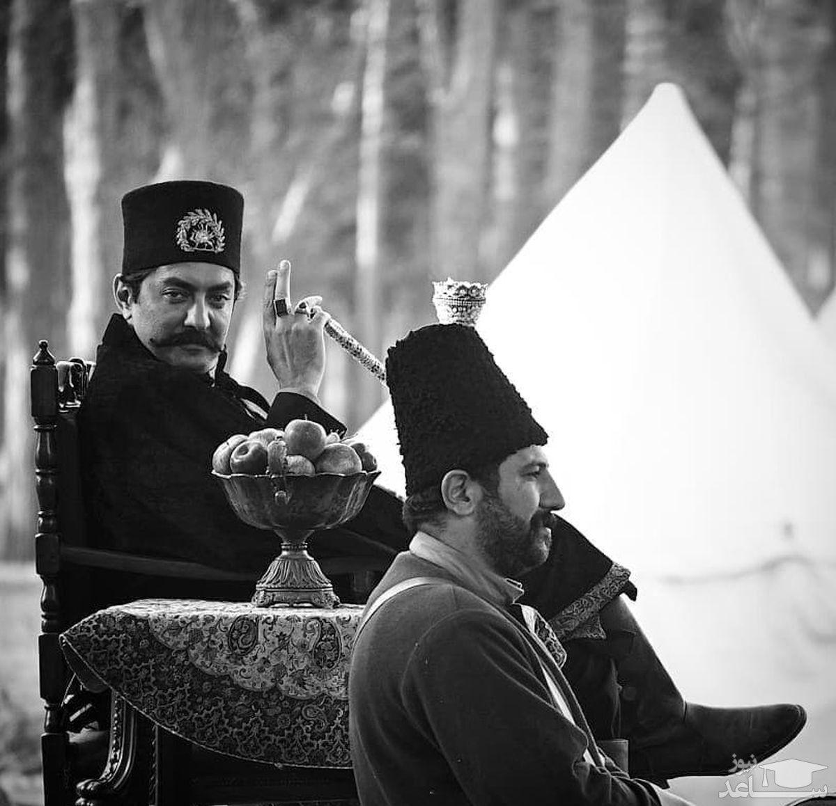 بهرام رادان در سریال جیران