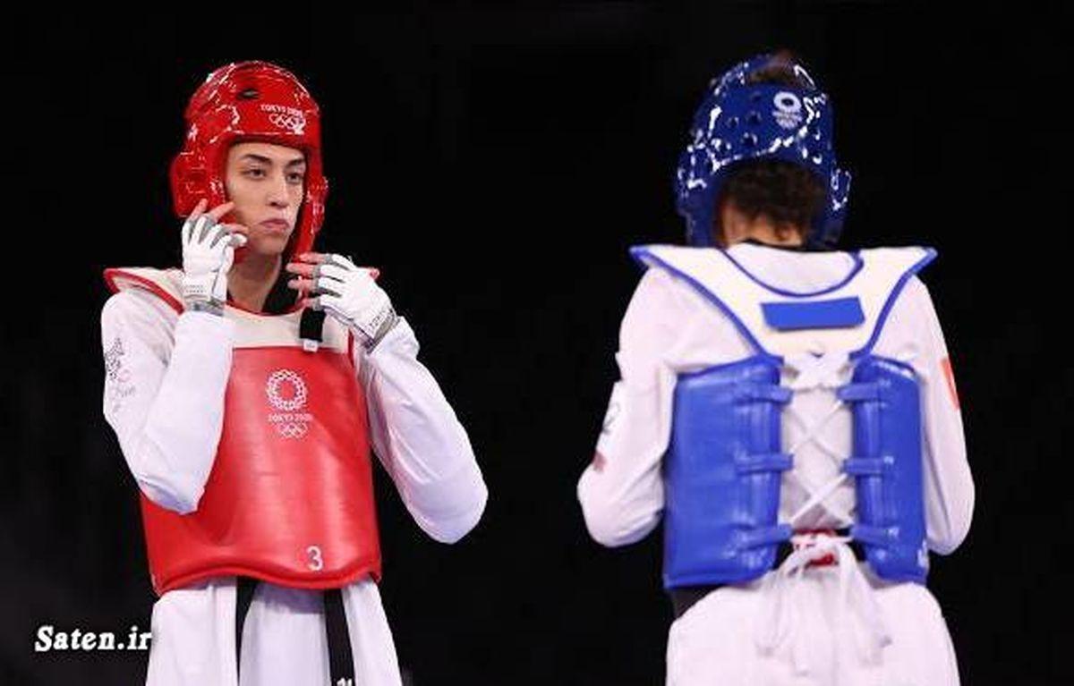 خداحافظی کیمیا علیزاده با المپیک توکیو