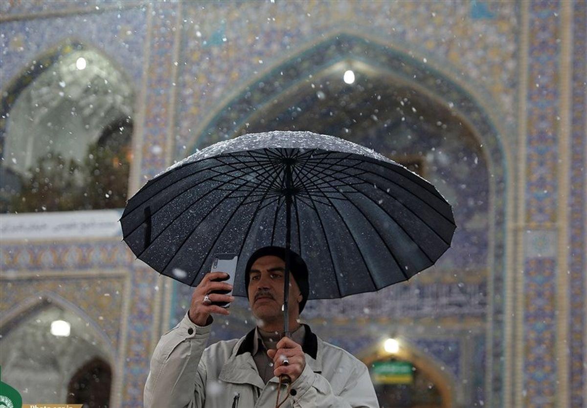 پیشبینی باران و برف تا یکشنبه در اکثر مناطق کشور