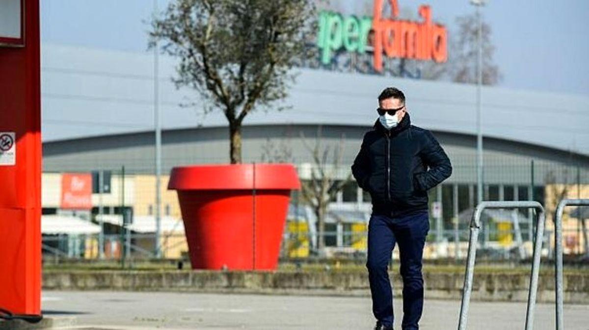 شمار قربانیان کرونا در ایتالیا به ۱۰۷ تن رسید