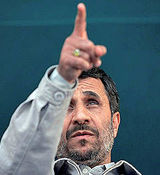 محمود احمدی نژاد تهدید کرد