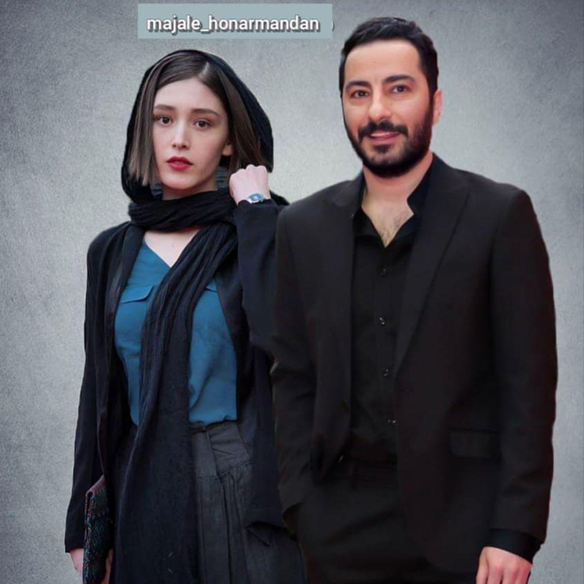 عکس لورفته از حلقه نگین دار و گران قیمت فرشته حسینی + عکس