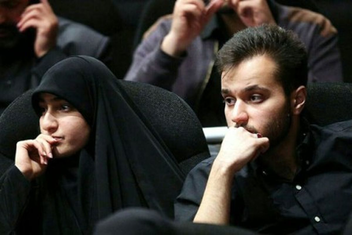 همسر دختر سردار سلیمانی + تصاویر