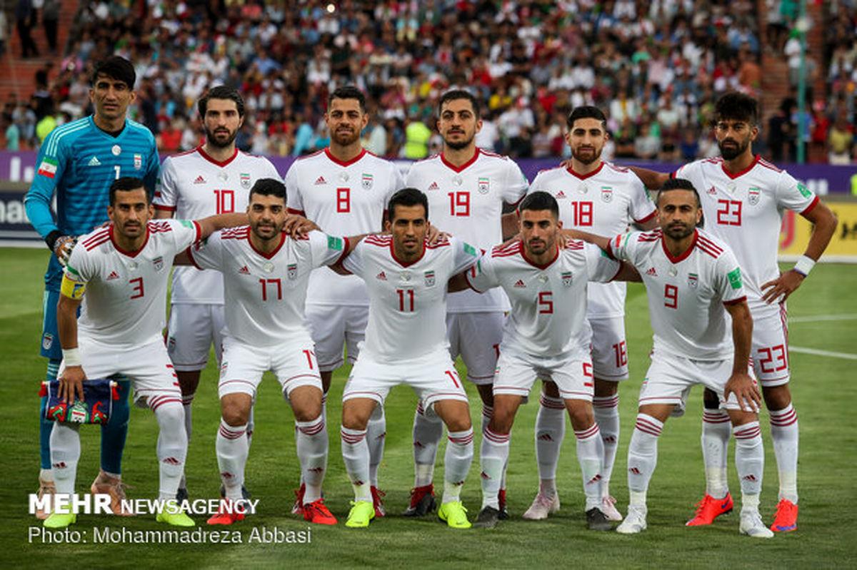 ترکیب احتمالی تیم ملی ایران در گام نخست