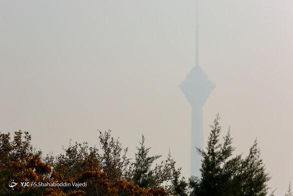 ۲ منطقه رکورددار آلودگی هوا در پایتخت