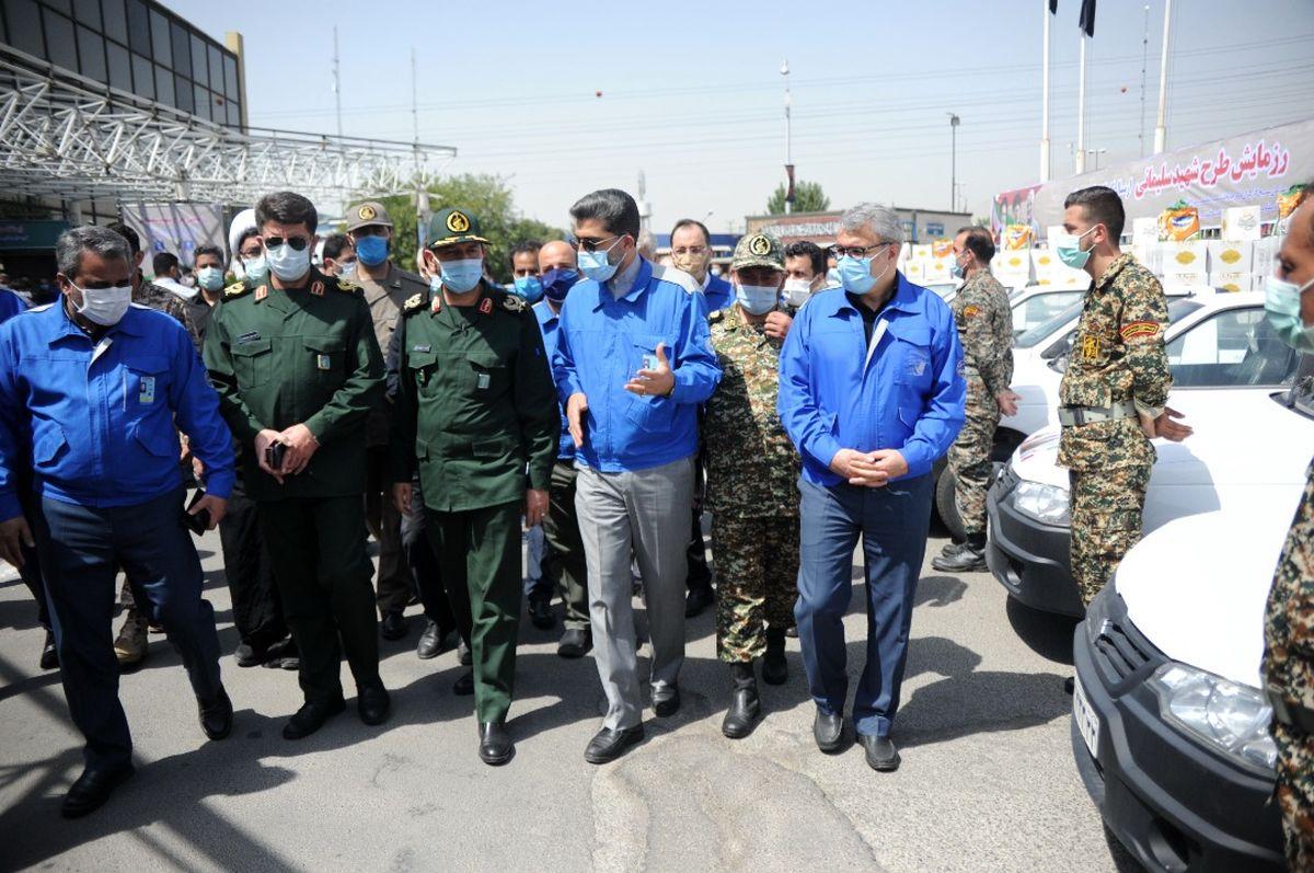 ایران خودرو برای واکسیناسیون جامعه کارگری با تمام امکانات به میدان آمده است