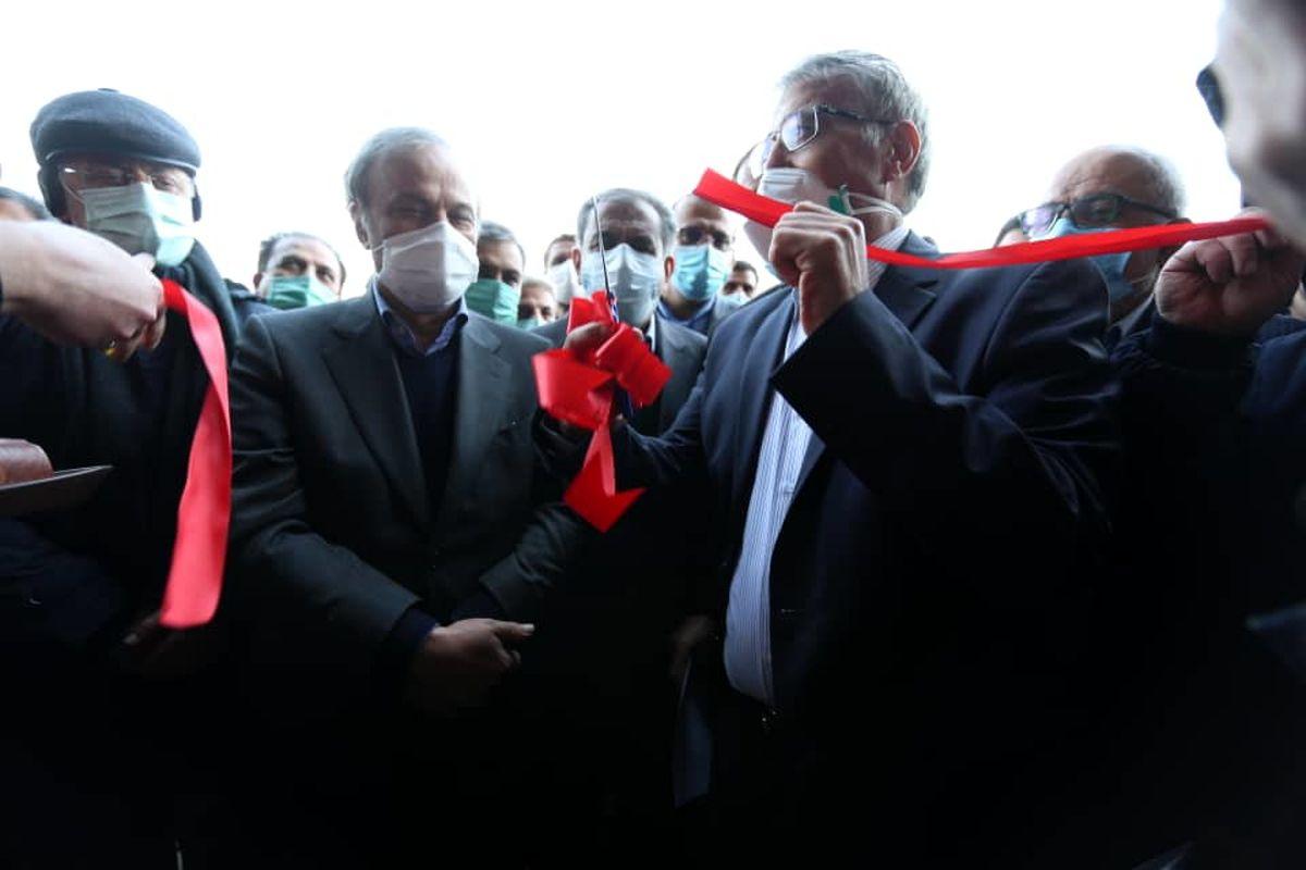 افتتاح طرح توسعه فولادسازی شرکت آریان فولاد بوئین زهرا توسط وزیر صمت