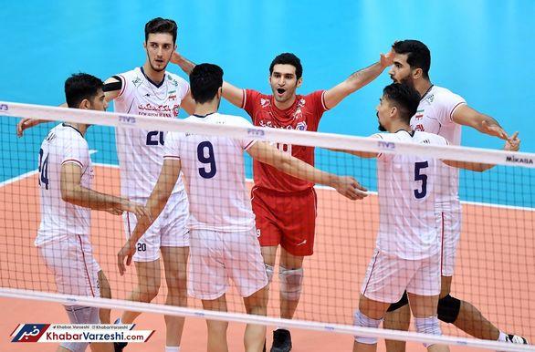 نتیجه بازی والیبال ایران و کانادا + خلاصه بازی | جمعه 12 مهر