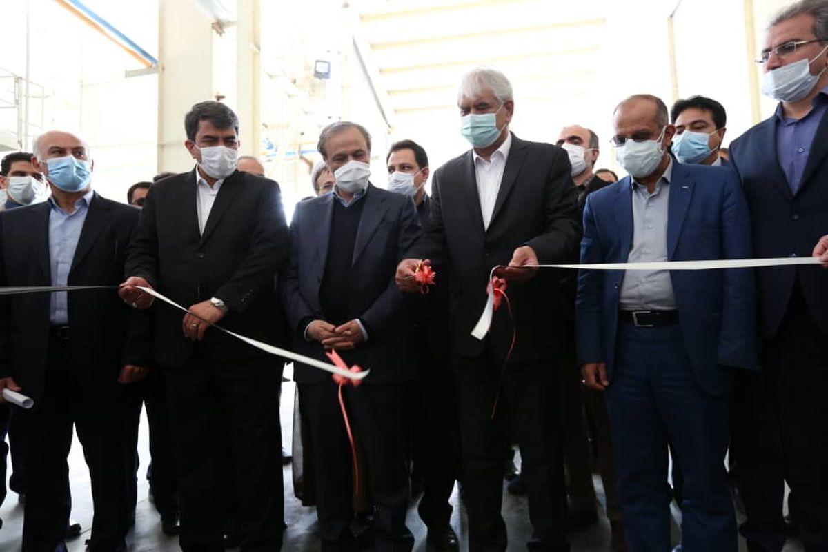 افتتاح و بازدید از کارخانجات یکتا گرانول میبد با حضور وزیر صمت