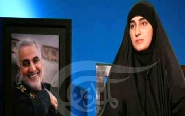 Zeinab Soleimani's interview with Al-Mayadin network about Sardar Soleimani + details