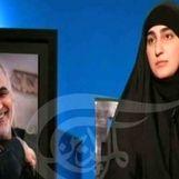 گفتگوی زینب سلیمانی با شبکه المیادین درباره سردار سلیمانی + جزئیات
