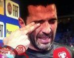 خداحافظی بوفون از بازی های ملی با اشک (عکس)