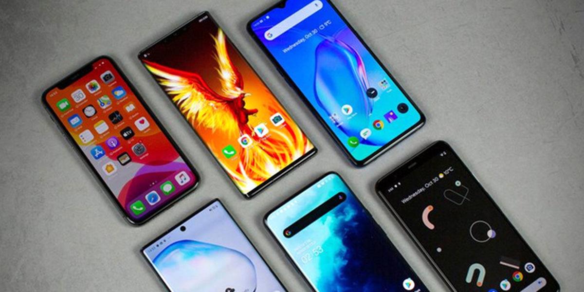 قیمت انواع گوشی موبایل در بازار 27 تیر + جدول