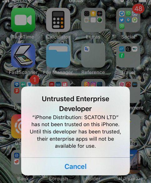 جزییات مسدود شدن اپلیکیشن های ایرانی توسط اپل