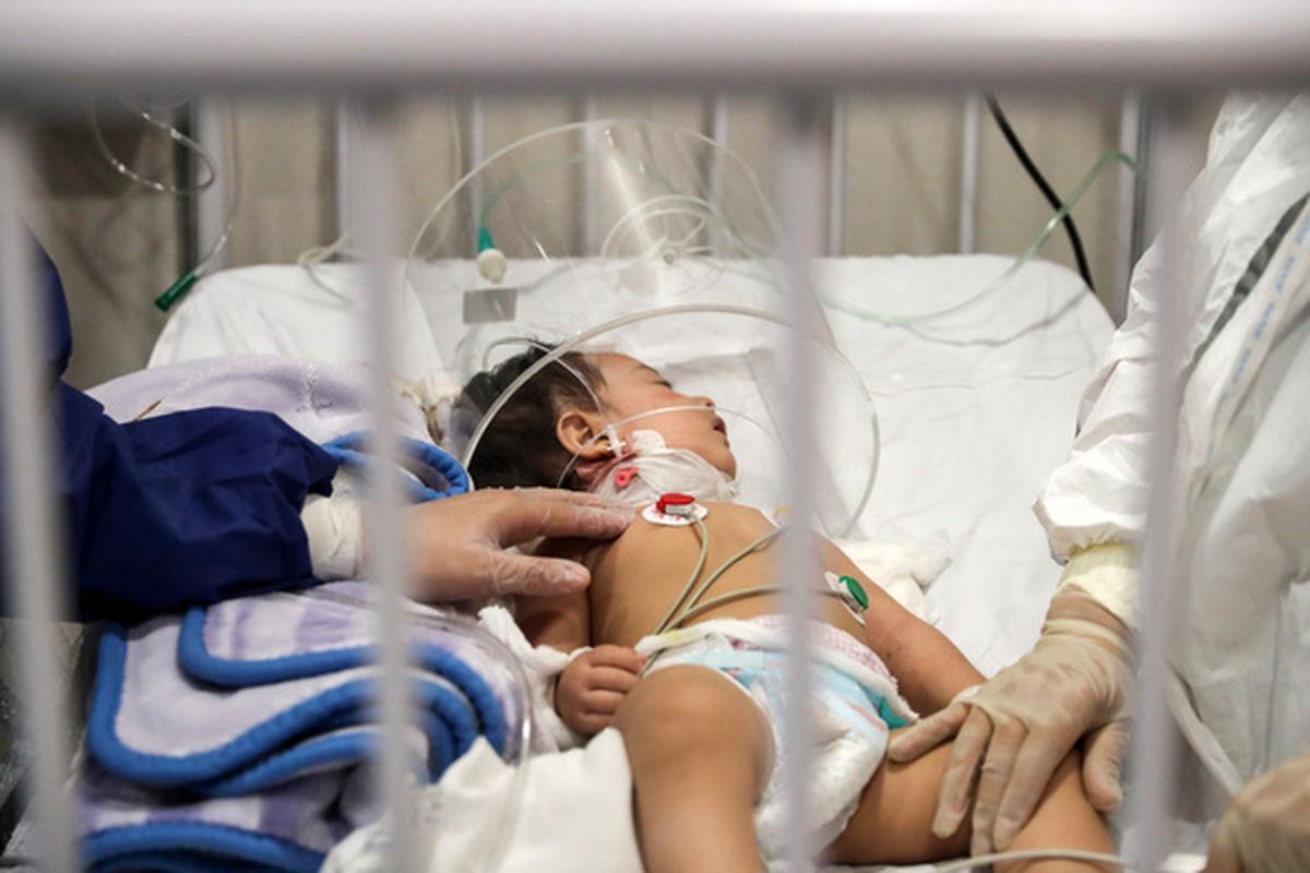 والدین بی رحم جسد کودک کرونایی را در بیمارستان رها کردند