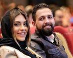 عکس جنجالی بازیگر معروف و همسرش در استخر لو رفت+ عکس