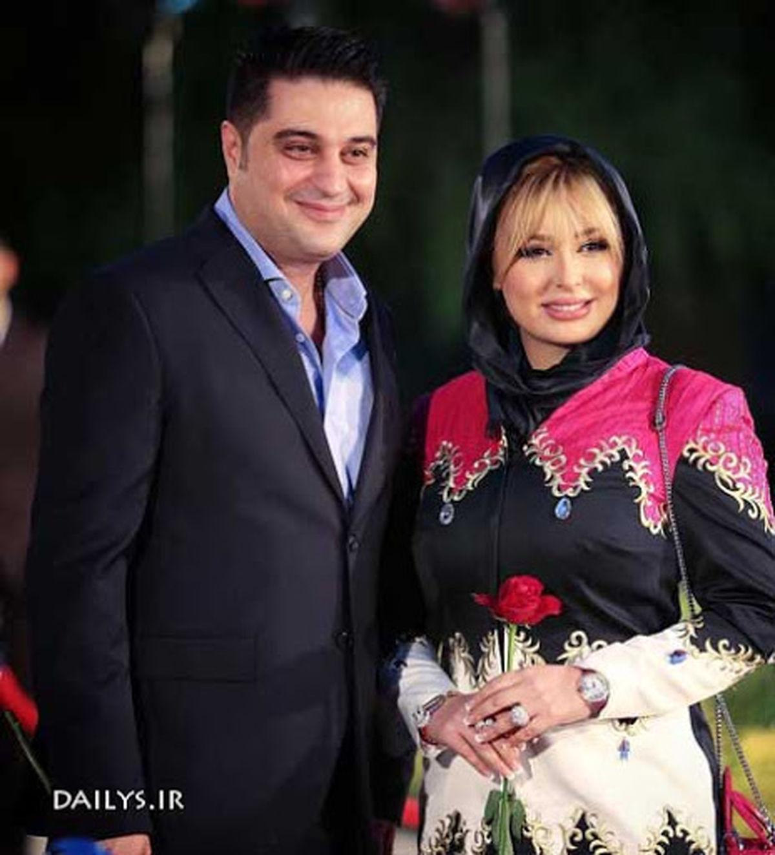 نیوشا ضیغمی از شغل میلیاردی همسرش رونمایی کرد + عکس