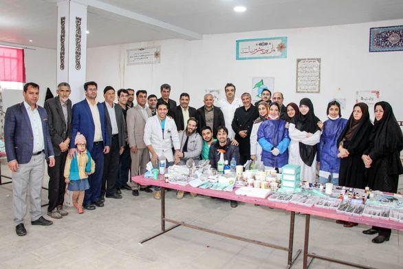 سیزدهمین طرح جهادی درمانی در هرمزآباد رفسنجان برگزار شد