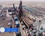 ثبت سومین رکورد متوالی تولید ماهیانه آهن اسفنجی واحد احیاء مستقیم شرکت فولاد سفیددشت