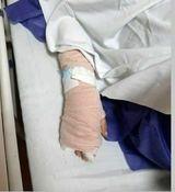 درگیری حراست دانشگاه شهید بهشتی با خبرنگار جنجالی شد + عکس