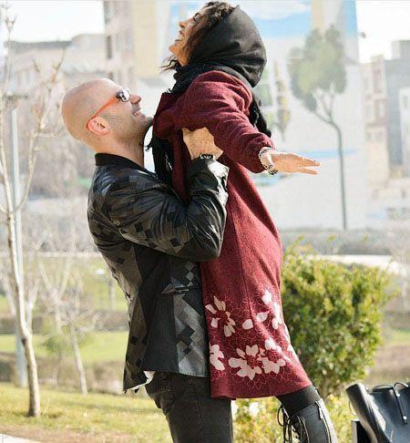 عکس جنجالی حدیث تهرانی در آغوش همسرش+بیوگرافی