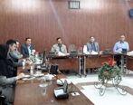 نشست مشترک معاون بهداشت و طب صنعتی با رئیس HSE شرکت ملی مناطق نفتخیز جنوب
