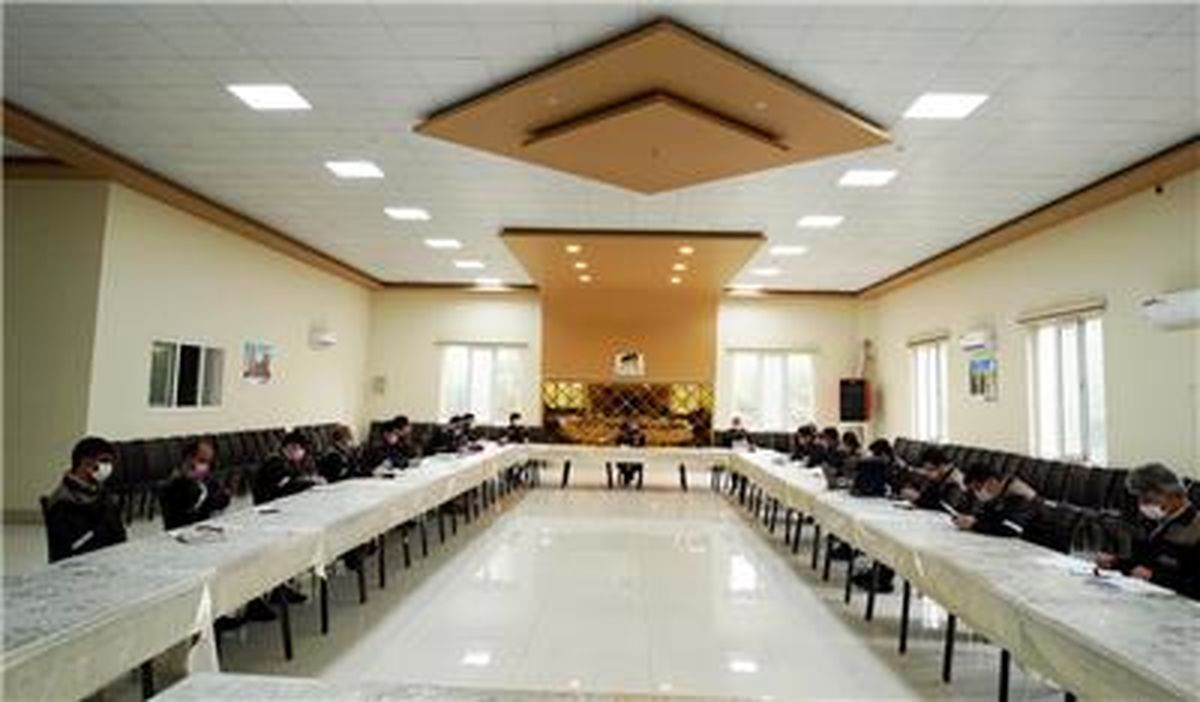 جلسه شورای مدیران مجتمع سنگ آهن سنگان برگزار گردید
