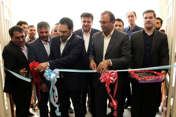 افتتاح مدرسه بانک سامان در سرپل ذهاب