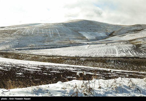 برف و باران در بیش از ۱۴ استان