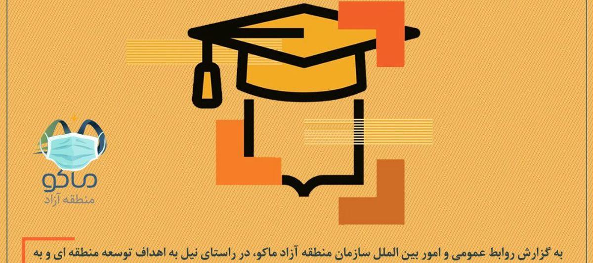 حمایت مالی سازمان منطقه آزاد ماکو از پایان نامه های دانشجویی و طرح های پژوهشی