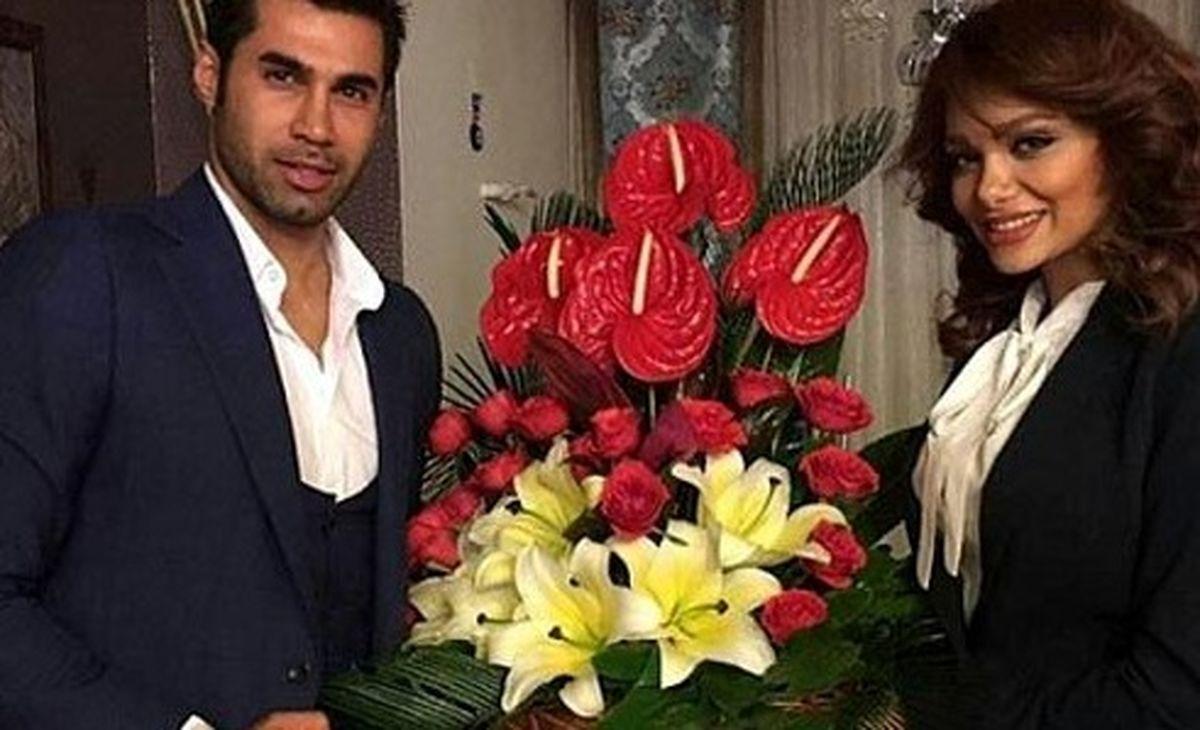 ماجرای ازدواج جنجالی محسن فروزان با مدلینگ معروف + فیلم و تصاویر جدید