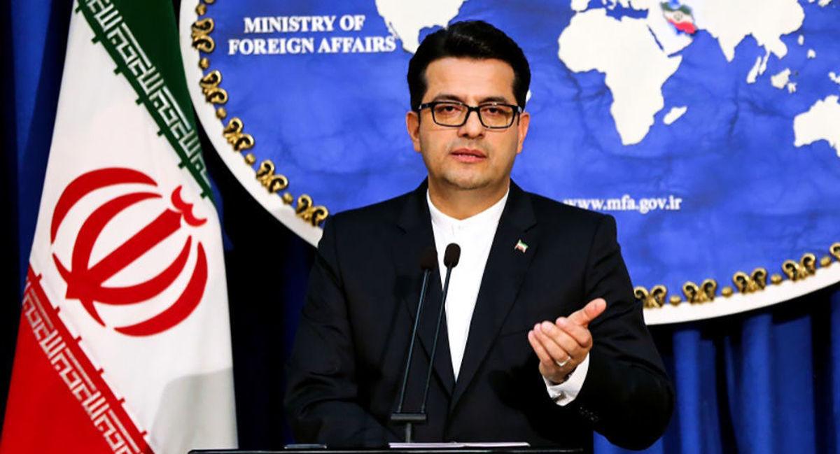 واکنش سخنگوی وزارت امور خارجه به ادعای مقامهای آمریکایی