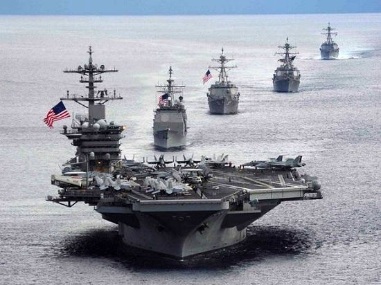 واکنش ناوگان دریایی امریکا به توقیف یک نفت کش توسط ایران