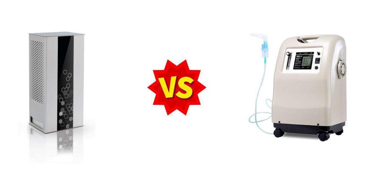 دستگاه اکسیژن ساز چه تفاوتی با دستگاه تصفیه هوا دارد؟
