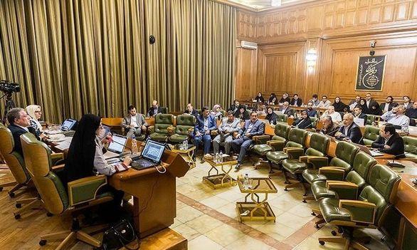 درگیری لفظی در صحن شورای شهر تهران