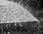 احتمال بارش رگبارهای پراکنده در قزوین