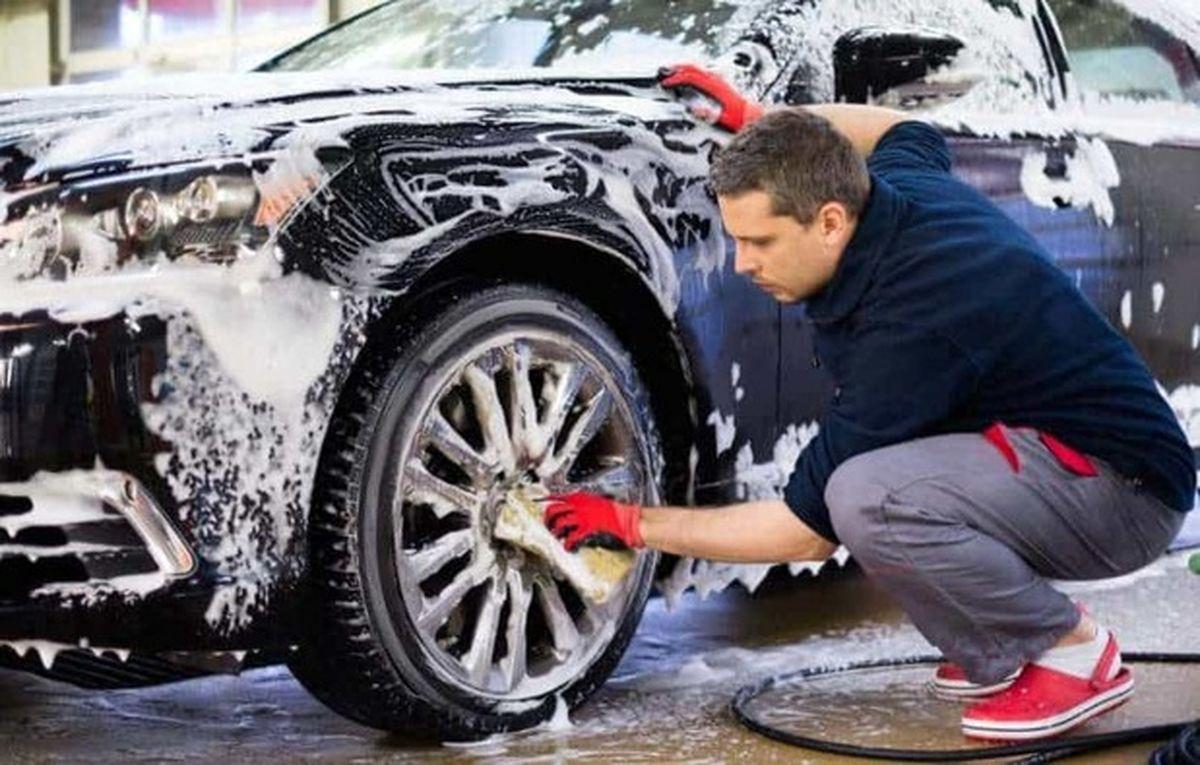 اشتباهات رایج هنگام شستشوی خودرو