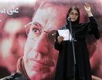 لباس سفید دختر علی سلیمانی در مراسم پدرش جنجال ساز شد + فیلم