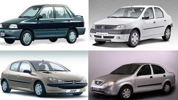 اخرین قیمت انواع خودرو های داخلی شنبه 15 تیر + جدول