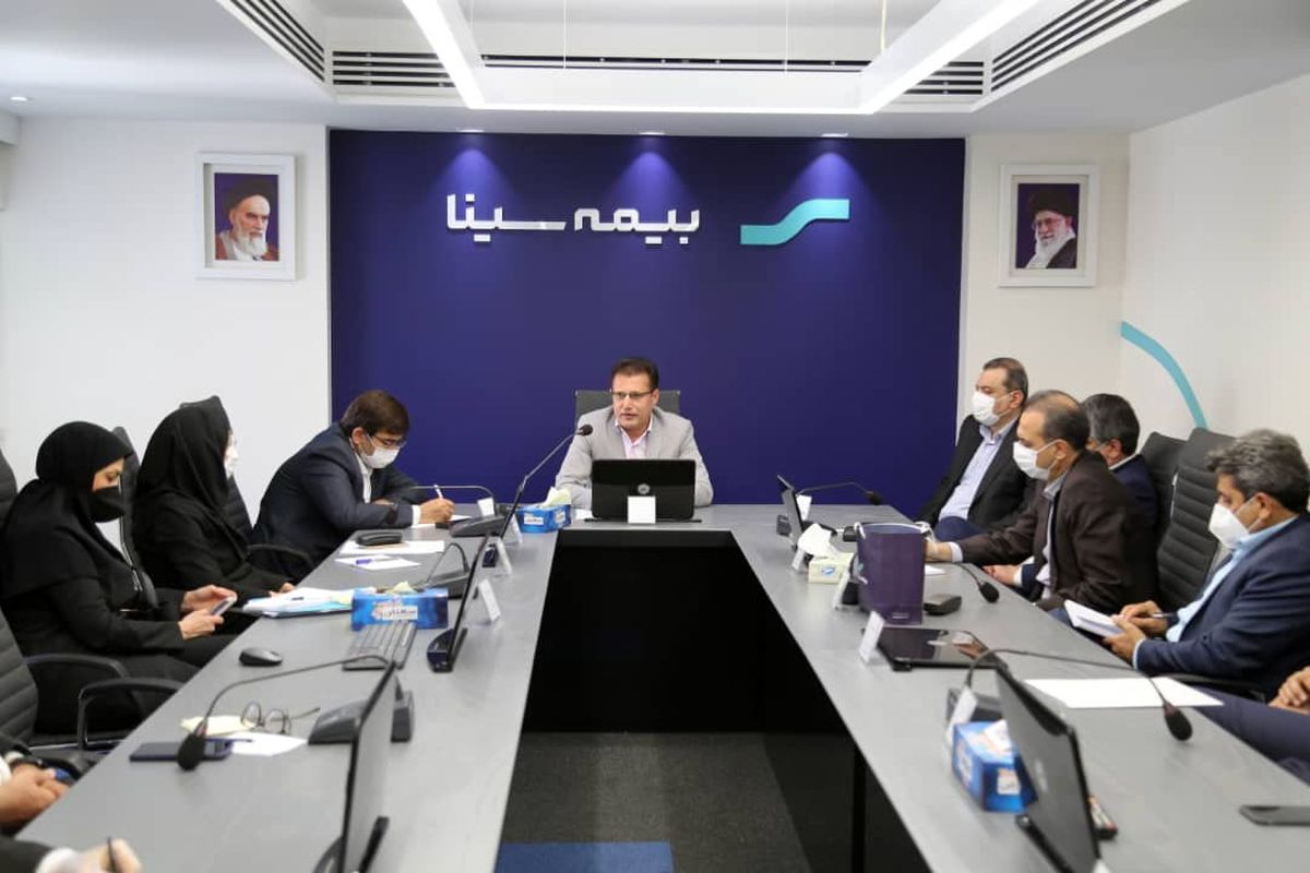 برگزاری نخستین نشست شورای مدیران شرکت بیمه سینا در سال جدید